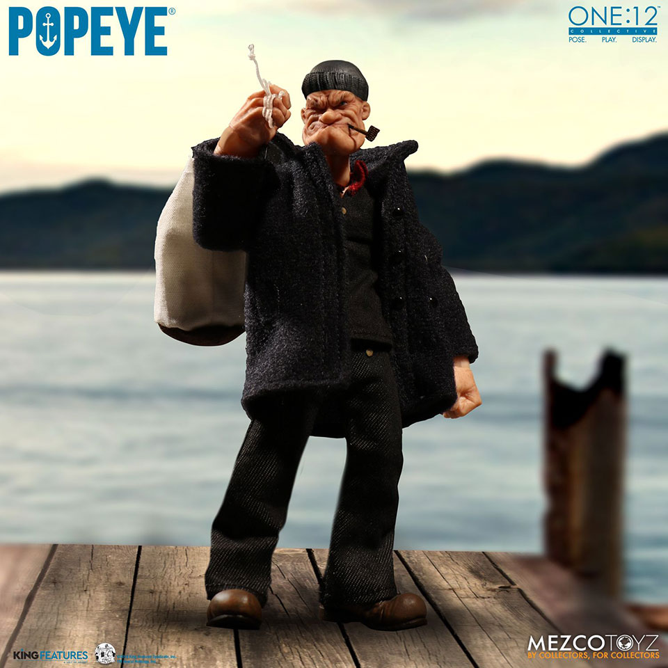 Mezco Popeye Action Figure