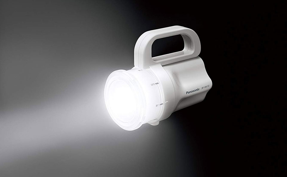 Panasonic Any-Battery Flashlight