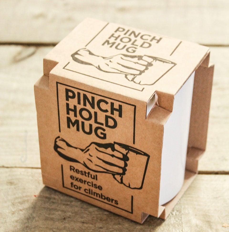 Pinch Hold Mug