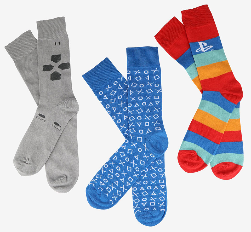 Playstation Crew Socks