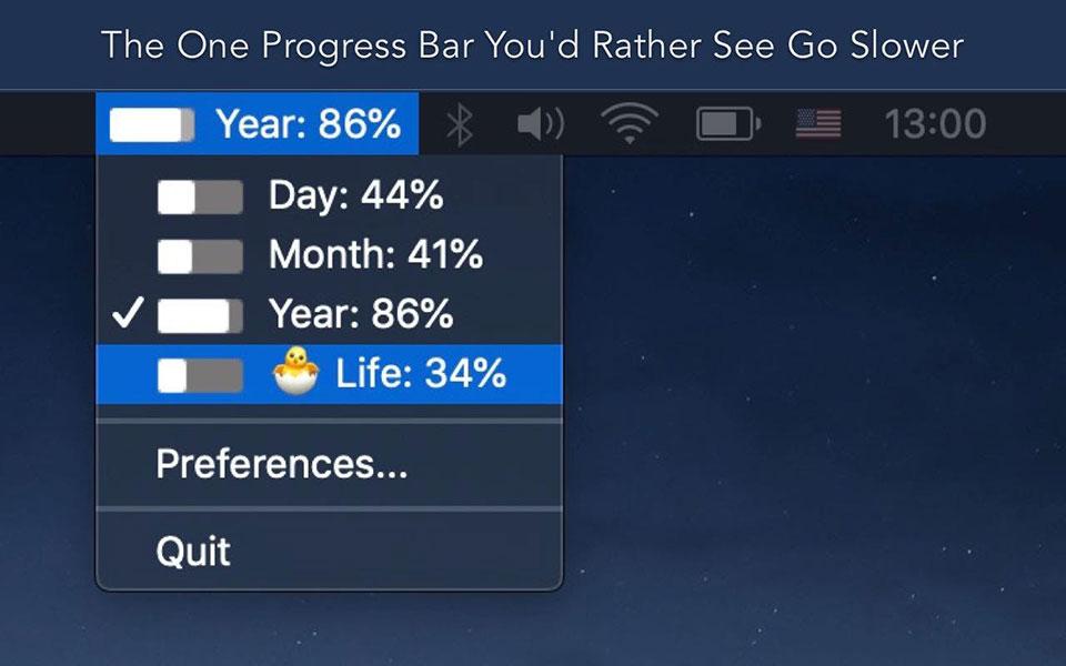 Progress Bar for MacOS