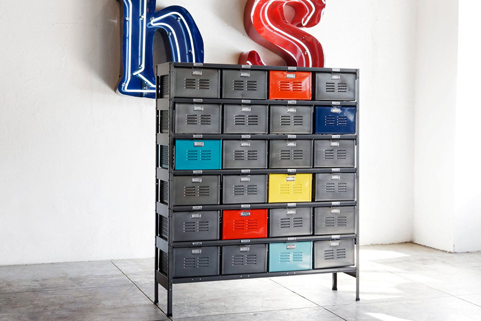 Locker Basket Storage