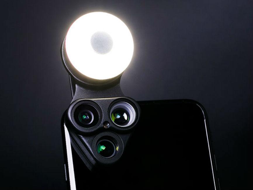 RevolCam: Multi-Lens Attachment