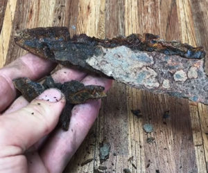 Salvaging a Decaying Knife