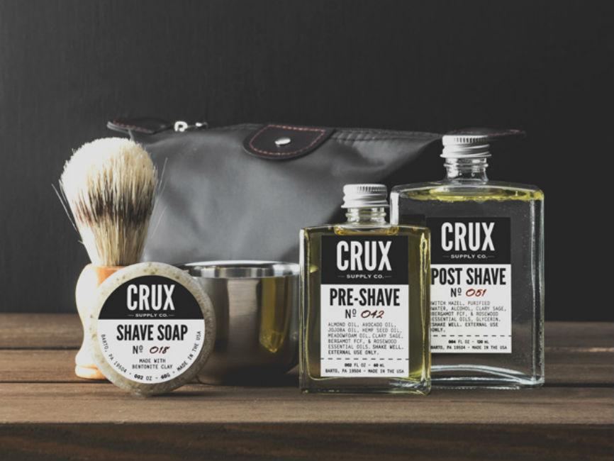 Crux Deluxe Shaving Set