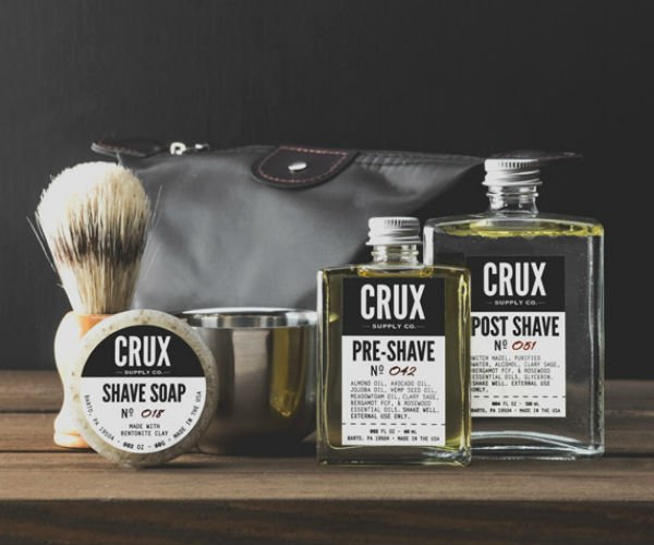 Crux Deluxe Shaving Set