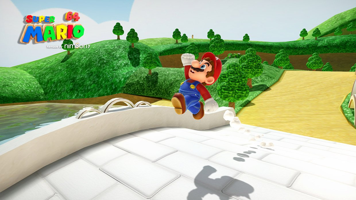 Fan Makes an Amazing HD Remaster of Super Mario 64