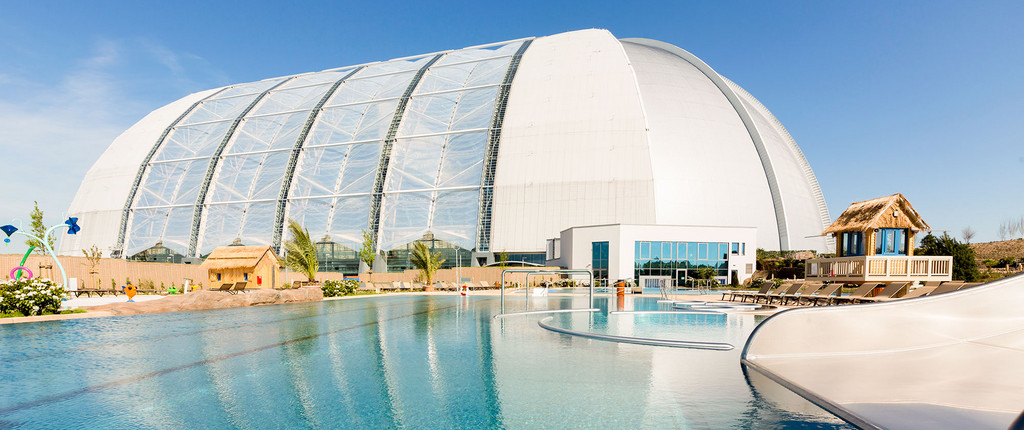 Resort in a Blimp Hanger