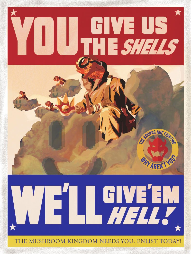 We Want You!   to Check out These Video Game Propaganda Posters