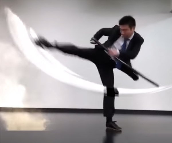 Swordplay with Game Effects