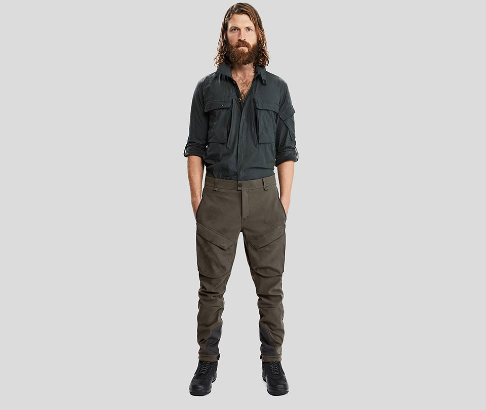 The 100 Year Pants Are Resistant to Fire, Water, Wind and Abrasion