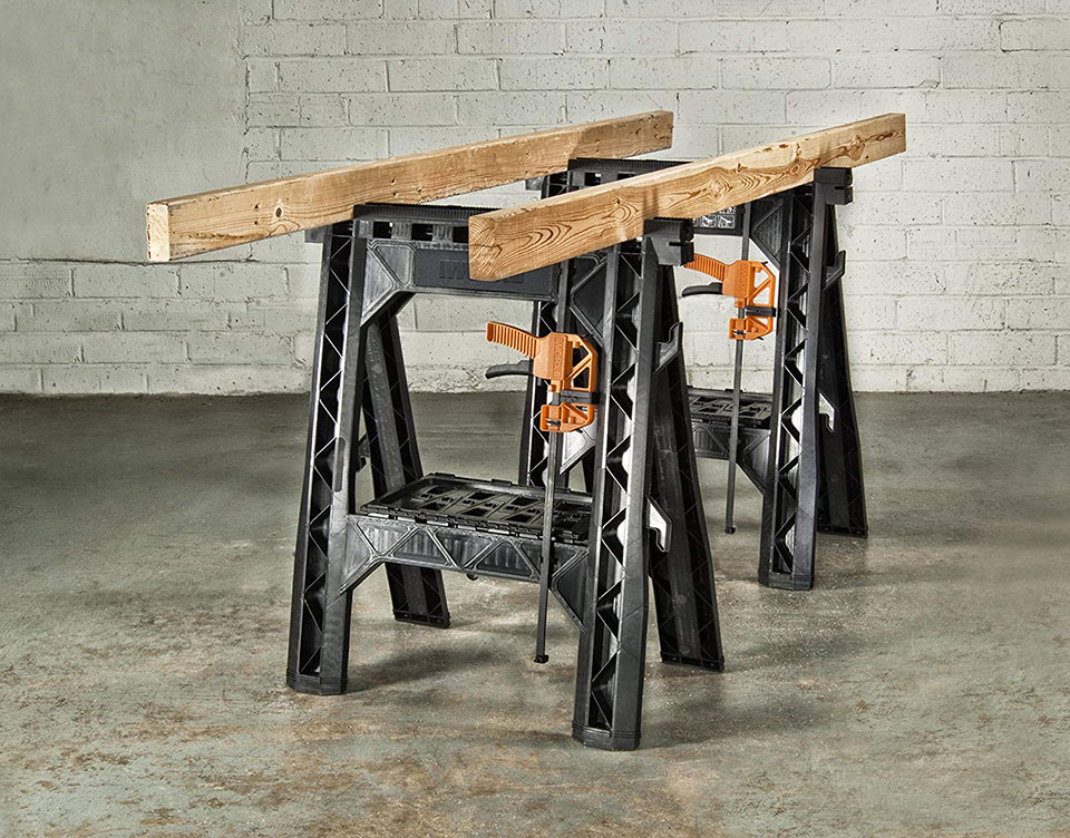 WORX Clamping Saw Horse