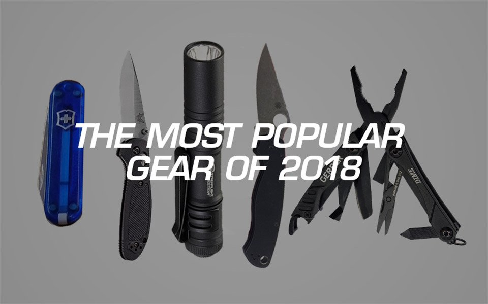 Most Popular EDC of 2018