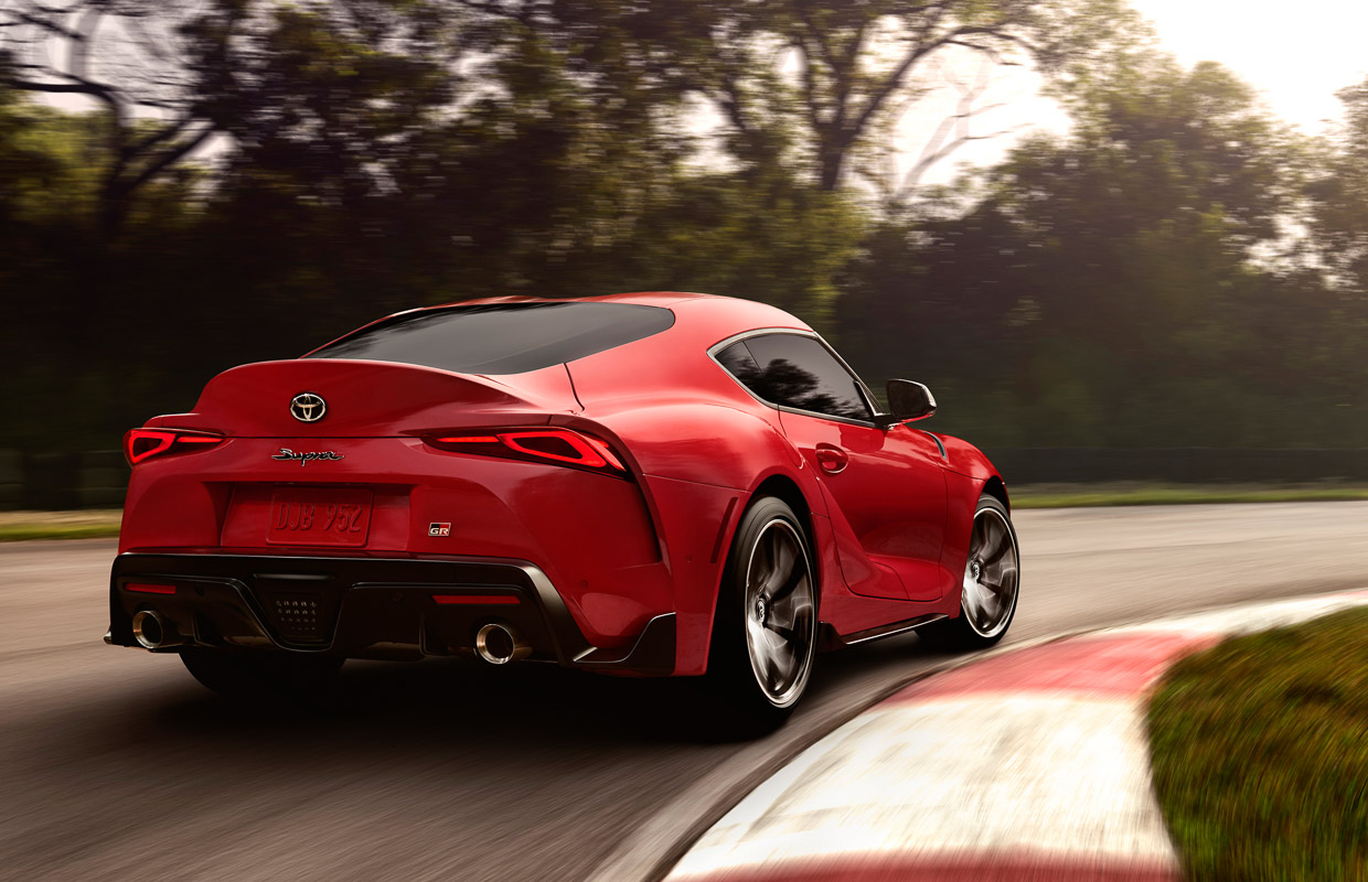 2020 toyota supra finally gets official  packs 335 hp turbo 6 engine