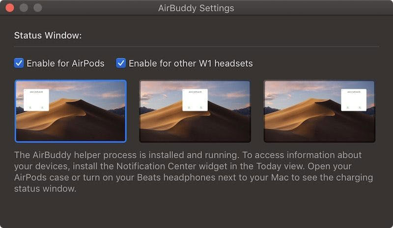 AirBuddy for MacOS