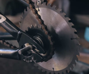 Bicycle Circular Saw