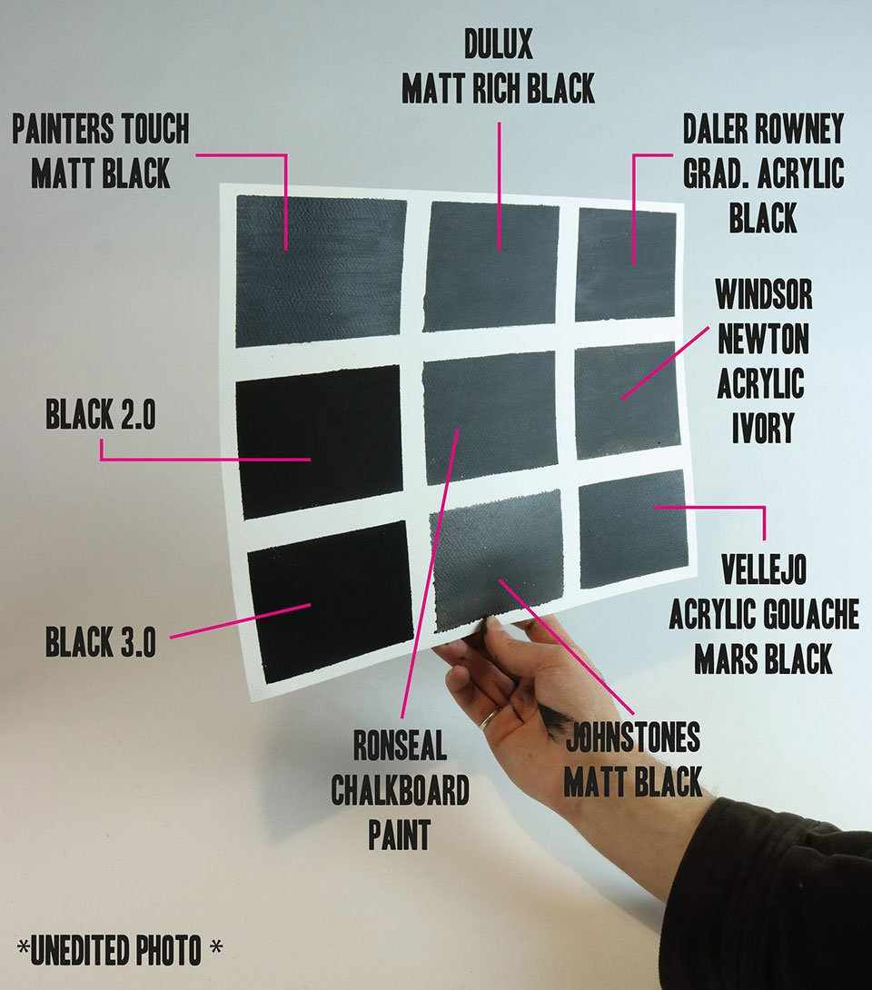 Black 3.0 Paint