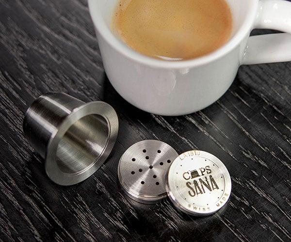 Capssana Reusable Nespresso Pod