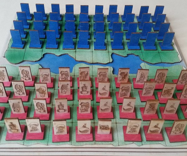 Wood Stratego Set