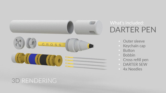 Darter Pen & Sewing Kit