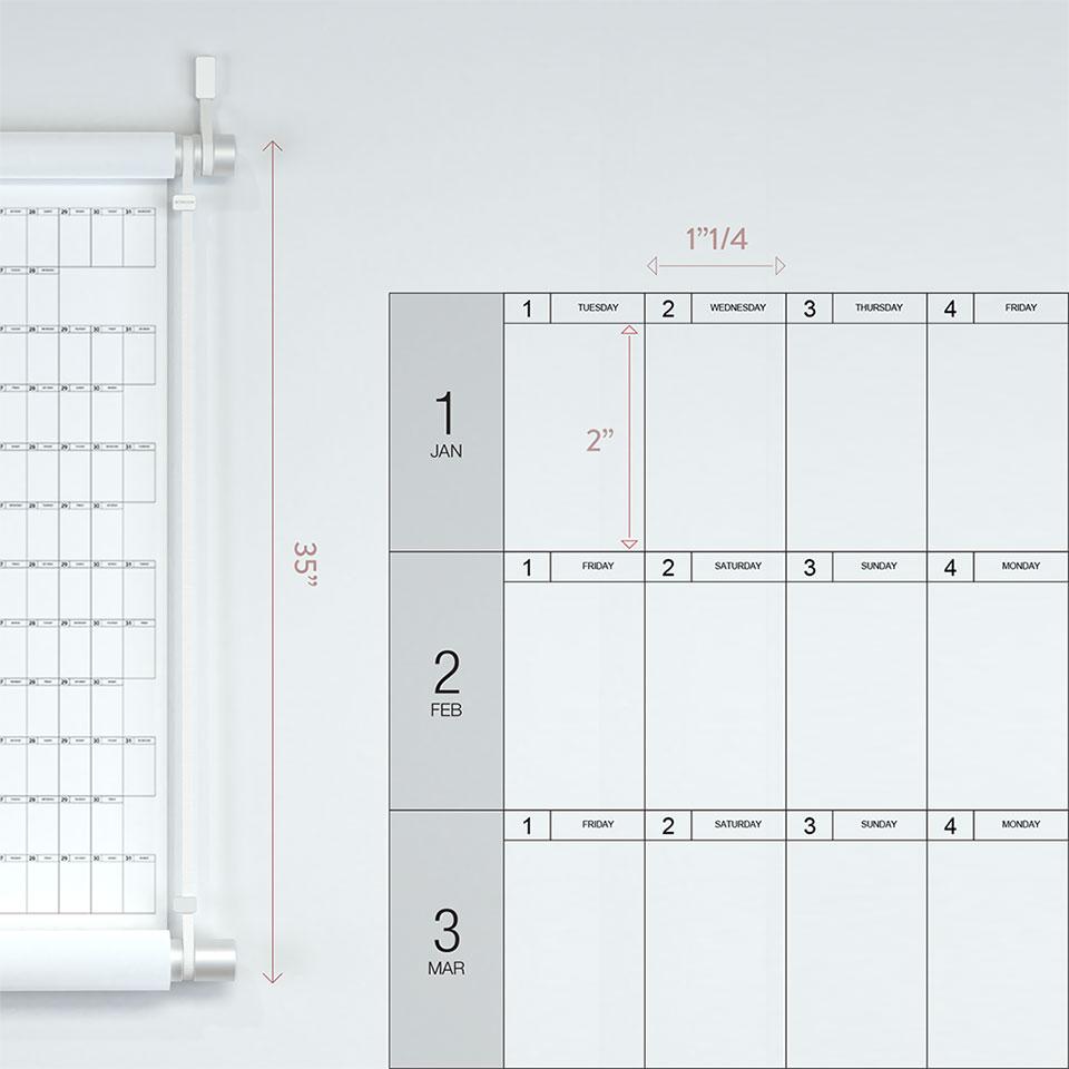 Decade Planner Calendar