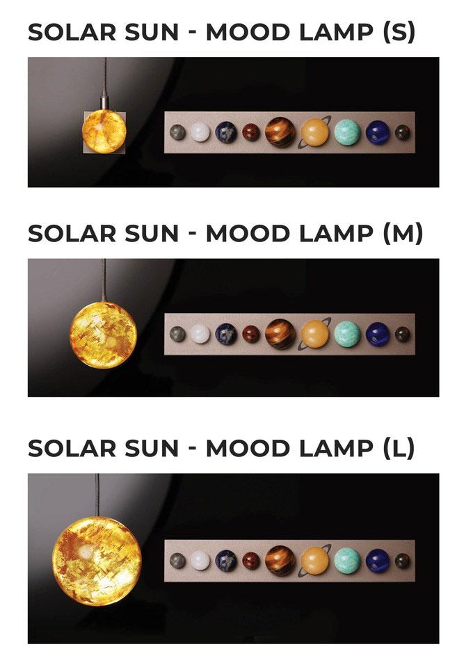 DeskSpace Solar Sun Mood Lamp