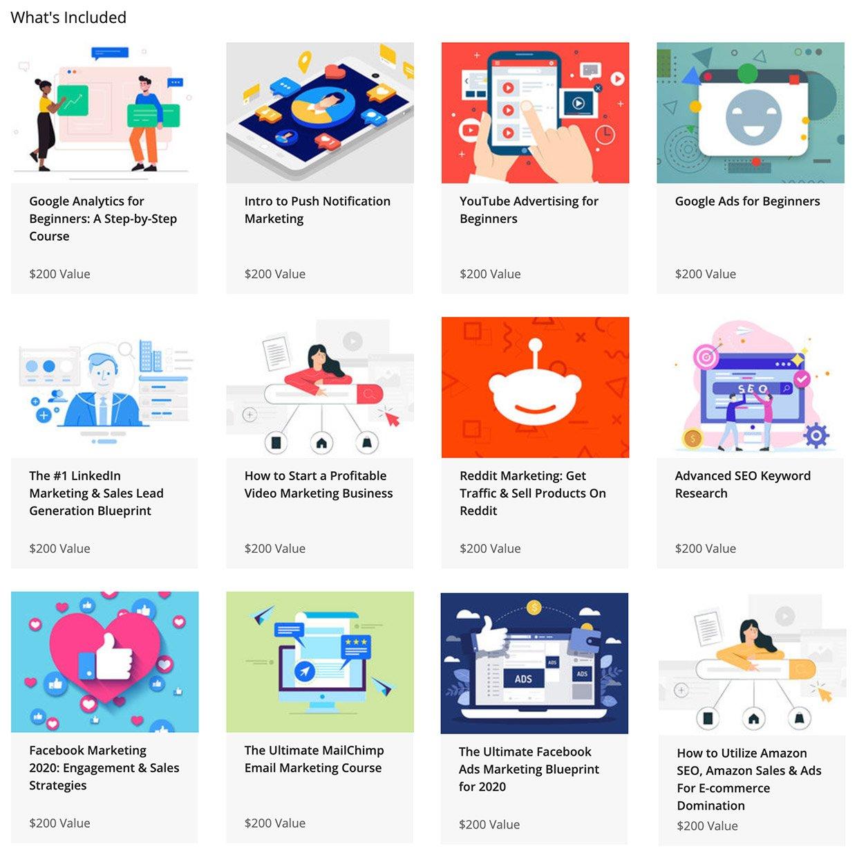 2020 Digital Marketing Bundle