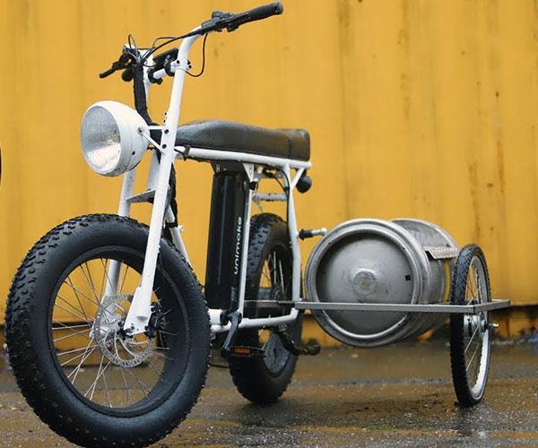 DIY Beer Keg Sidecar