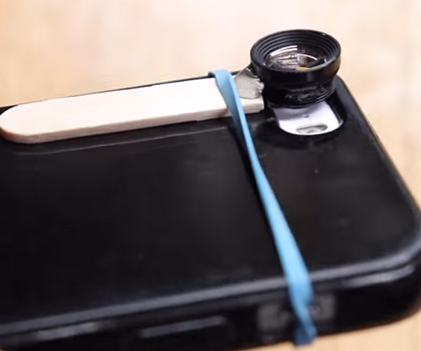 DIY Smartphone Macro Lens