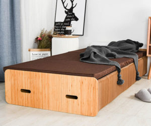 Extendable Cardboard Bed