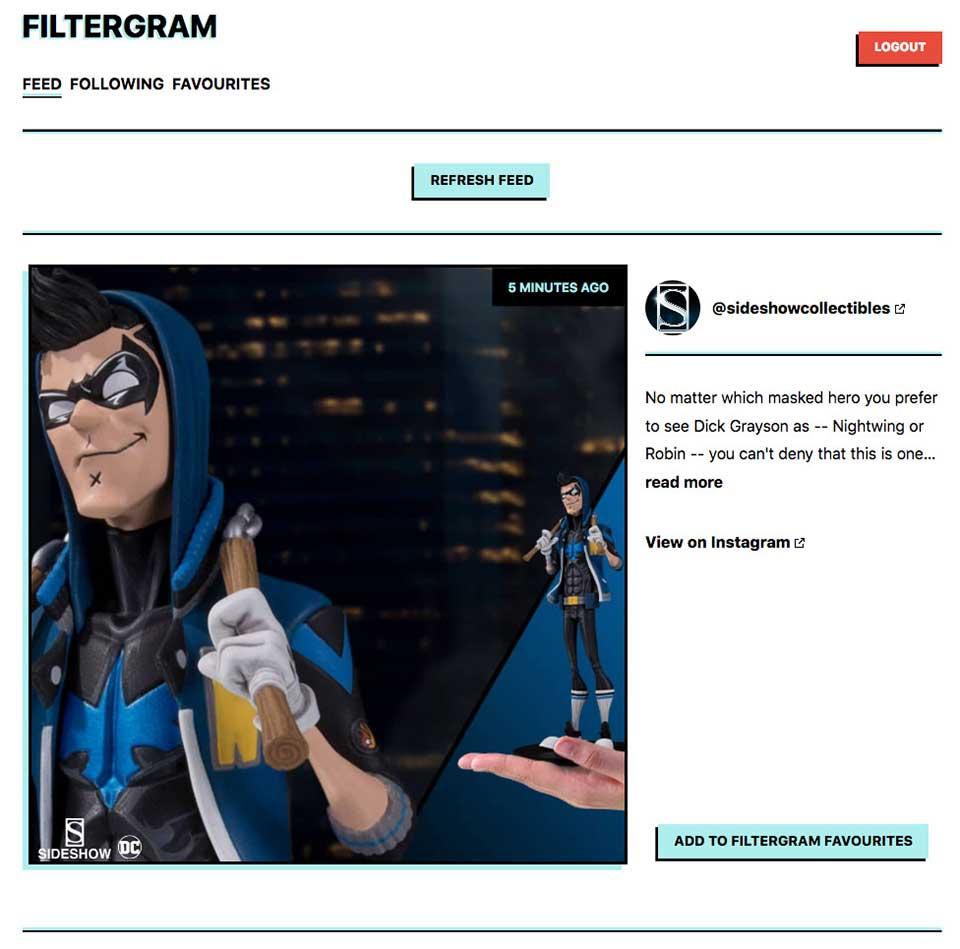 Filtergram