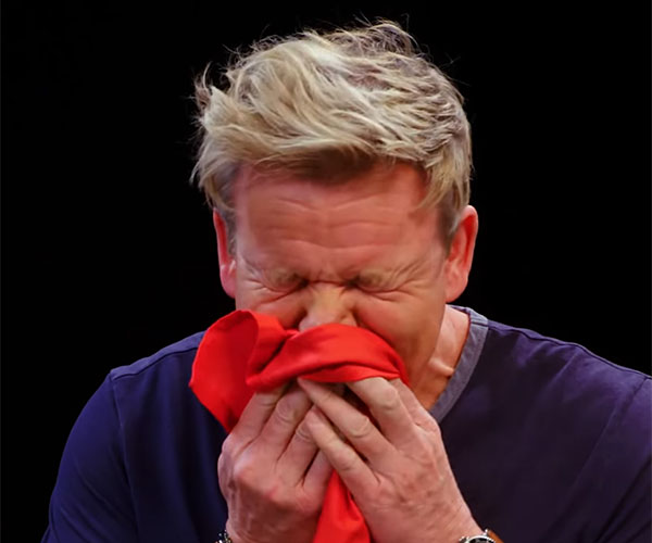 Gordon Ramsay vs. Hot Wings