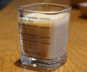 Graduated Espresso Shot Glass