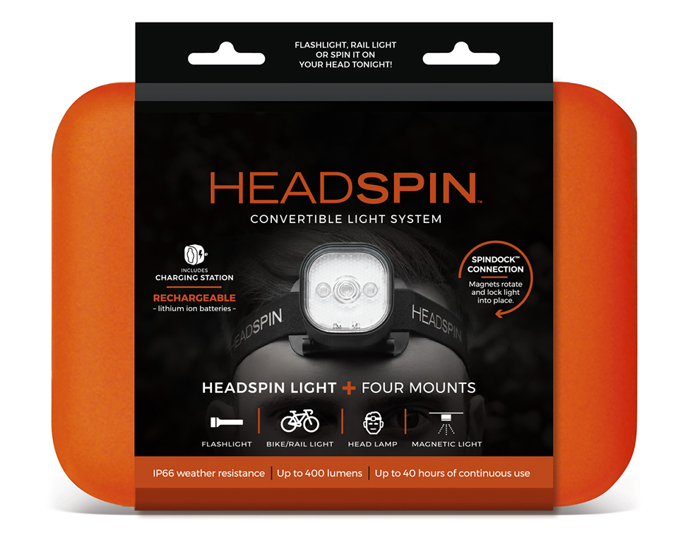 HeadSpin Convertible Light