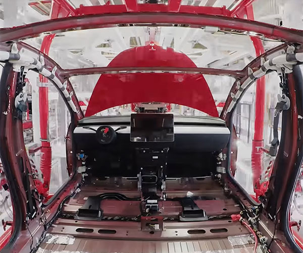 How a Tesla Model 3 Gets Made
