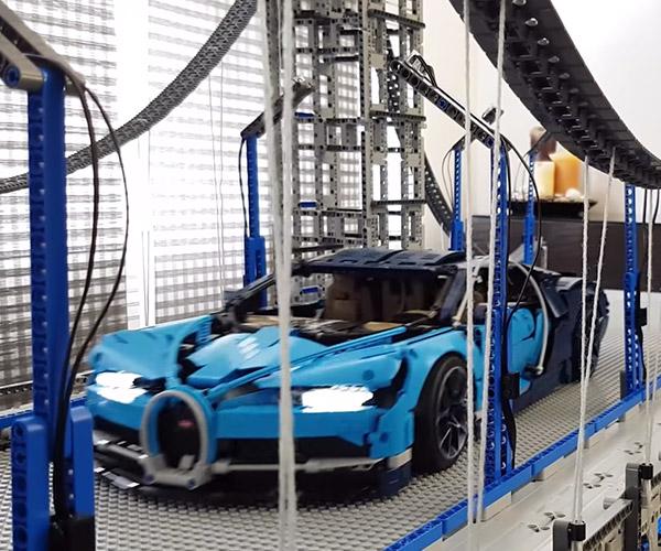 LEGO Supercar Bridge
