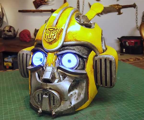 Making a Bumblebee Helmet
