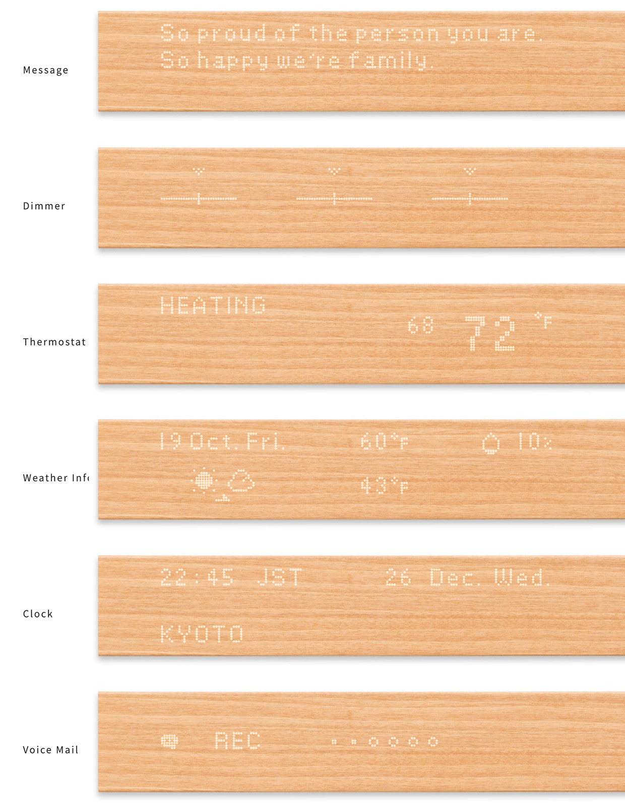 mui Wood Touch Panel