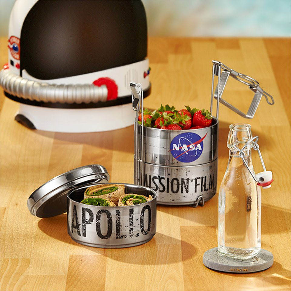 Eat Lunch Like an Astronaut with This Apollo 11 Inspired Steel Canister