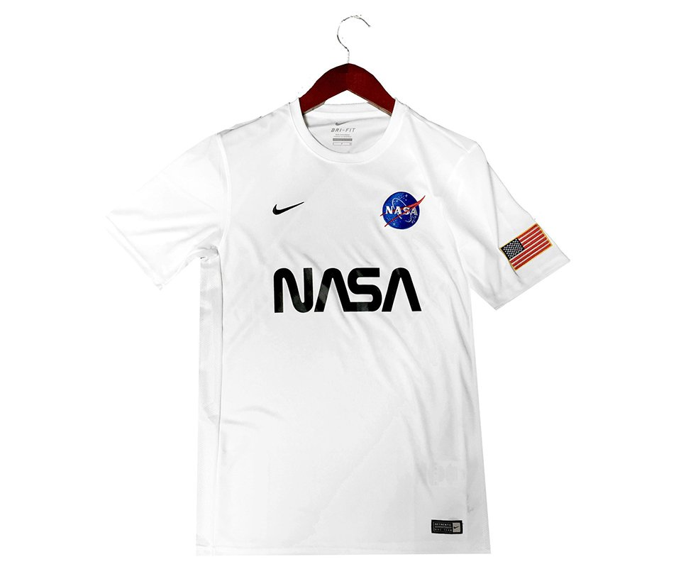 Represent Space with This Sweet NASA-themed Nike Soccer Jersey