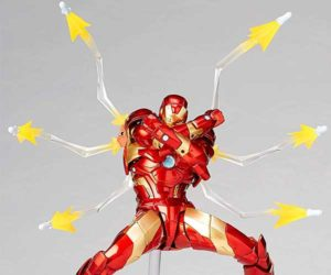 Revoltech Iron Man Action Figure