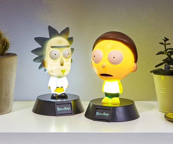 Rick and Morty Icon Lights