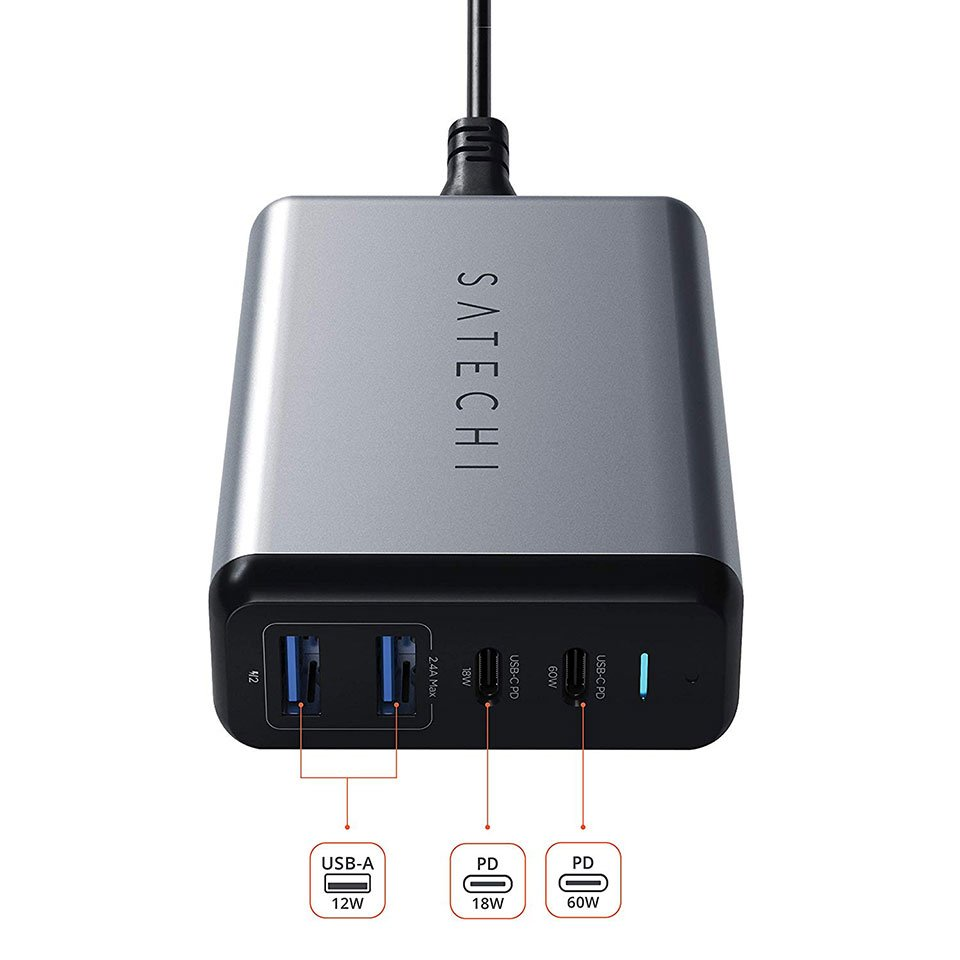 Satechi Dual Type-C PD Charger