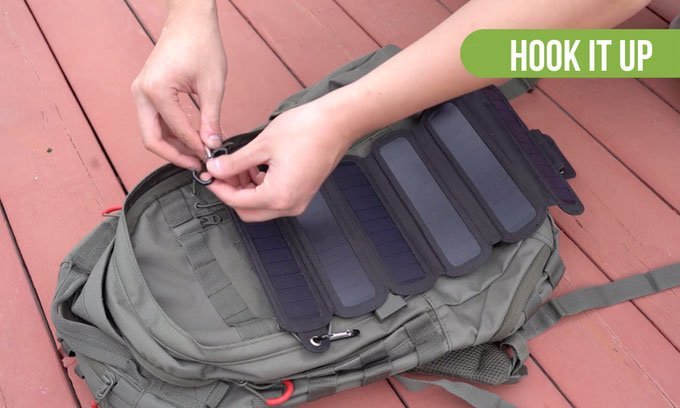 SolarCru Solar Panel Charger