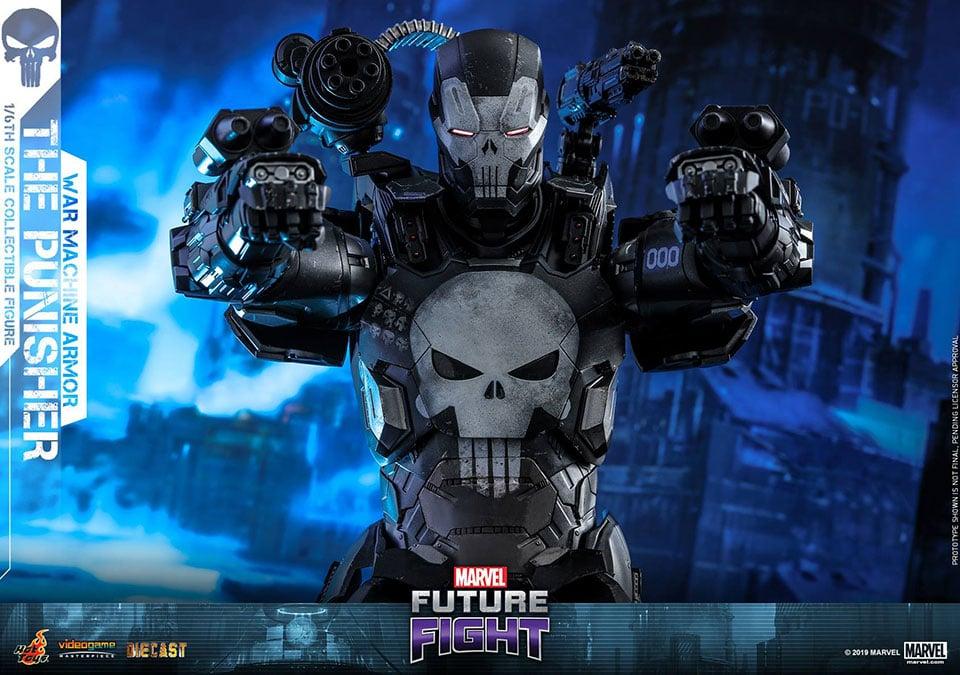 The Punisher War Machine Action Figure