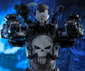 The Punisher War Machine Action Figure