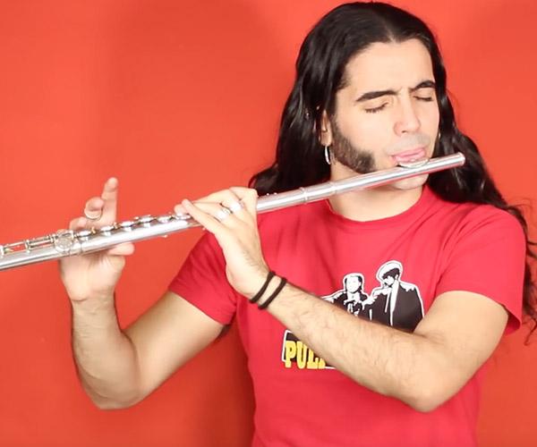 Thunderstruck: Flute Edition