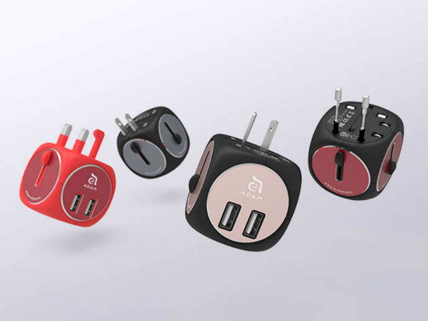 OMNIA TA502 Travel Adapter