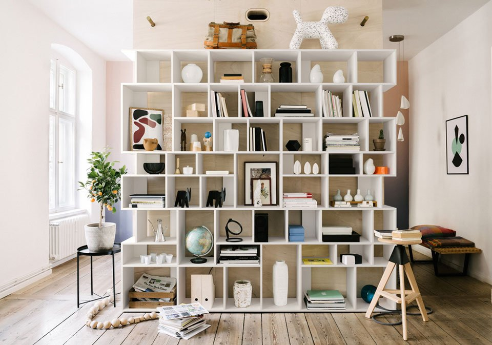 Tylkos Type02 Shelves Are Highly Customizable And Easy To