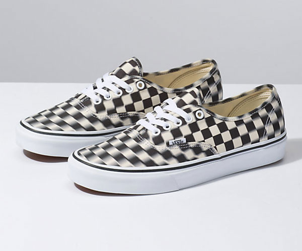 Vans Blur Check Authentic